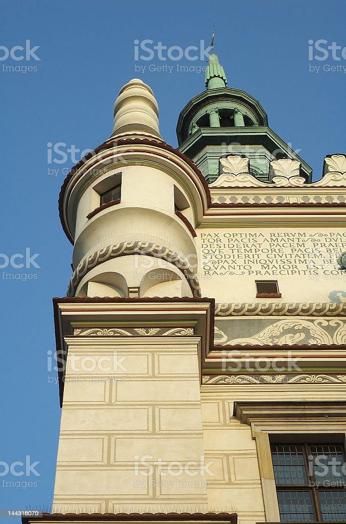 Poznan Historic City Hall 1 royalty-free stock photo