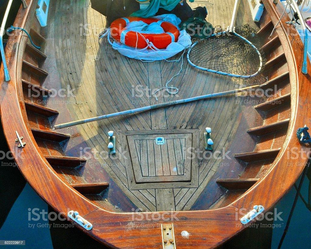 Pozzuoli, Naples. Little fisherman\'s boat