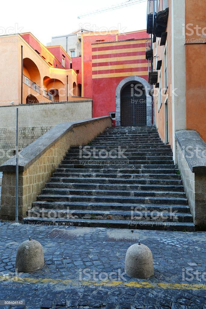 Pozzuoli, Naples stock photo