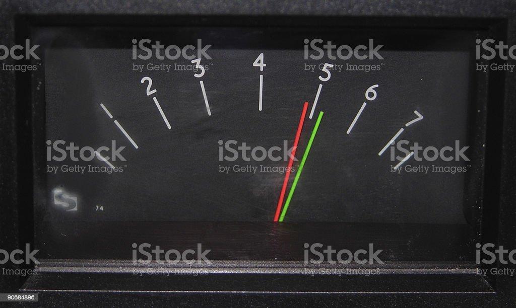 ppm meter stock photo