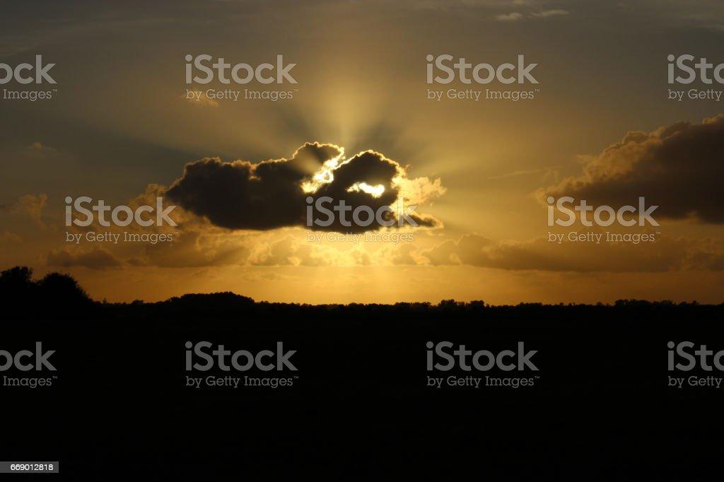 Pôr do Sol stock photo