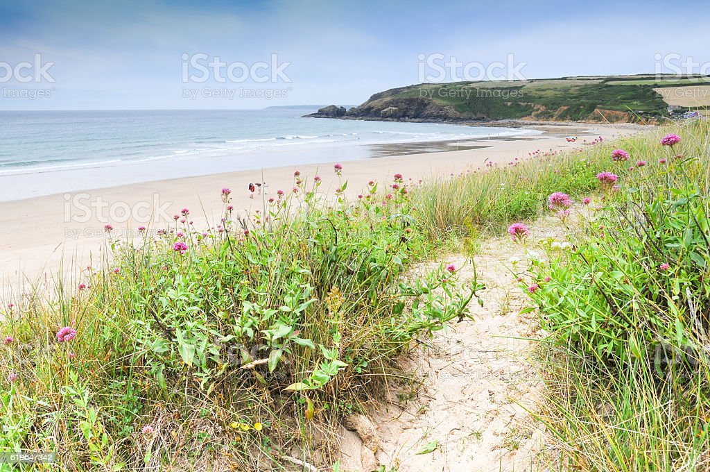 Praa Sands. stock photo
