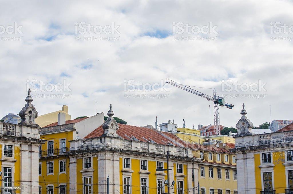 'Praca do Comercio', Lisbon-Portugal stock photo