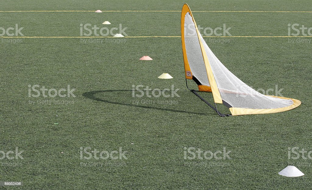 Practice Goal royalty-free stock photo