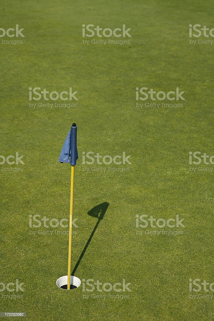 Practice Green royalty-free stock photo