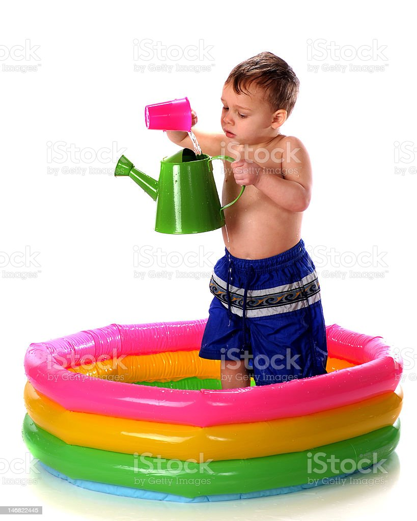 Practice Pouring royalty-free stock photo