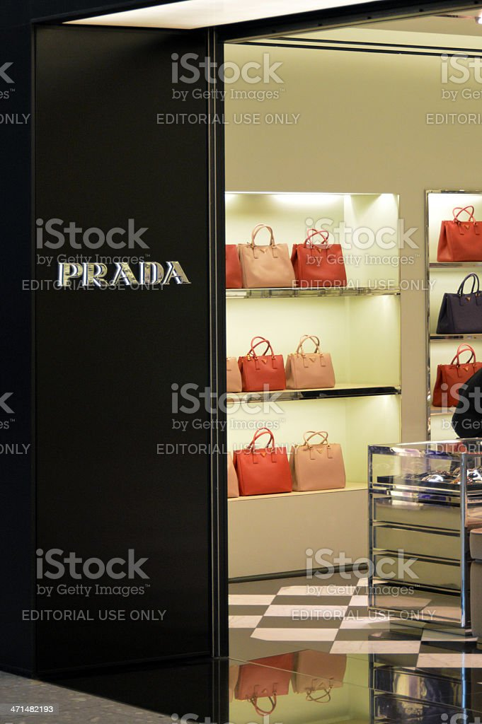 Prada royalty-free stock photo