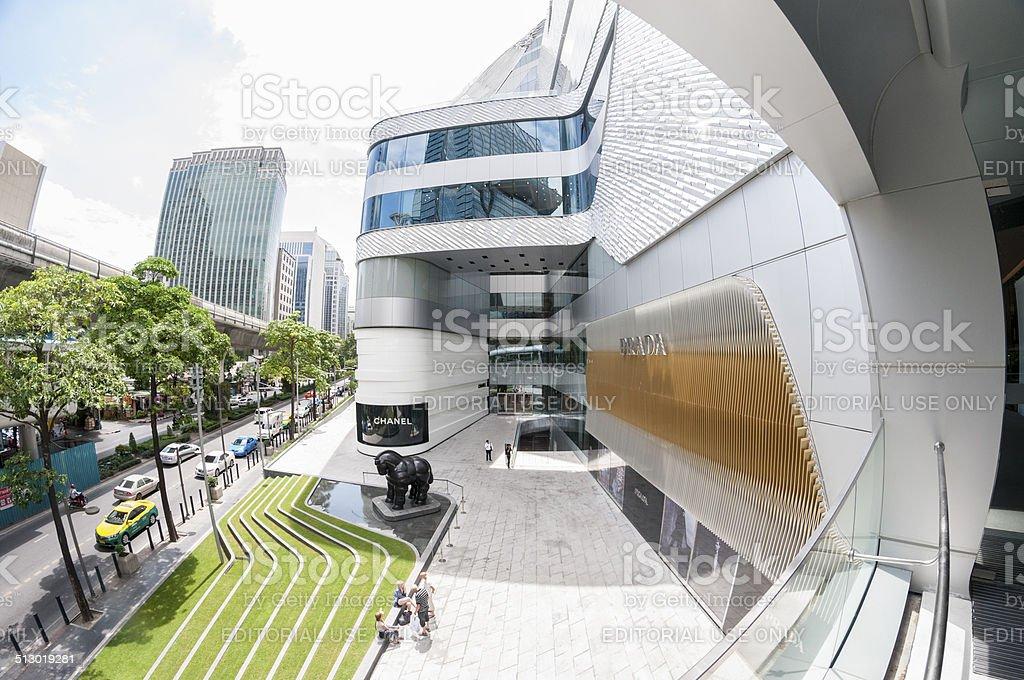 Prada Shop In Bangkok, Thailand stock photo