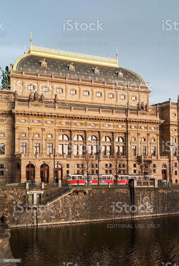 Prager Ansichten stock photo