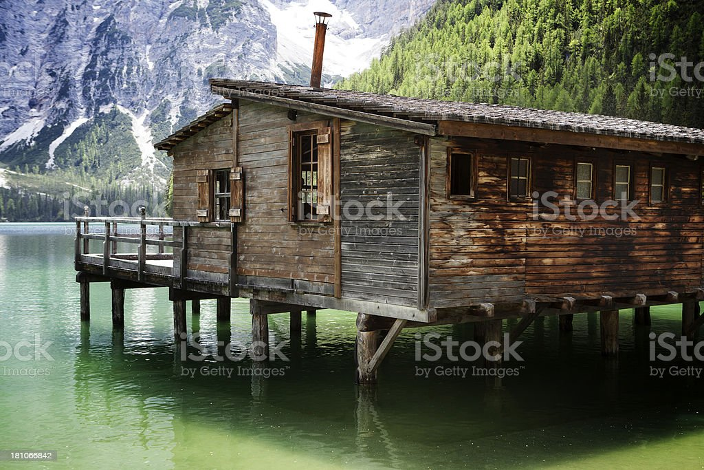 'Pragser Wildsee, Lake Braies' stock photo