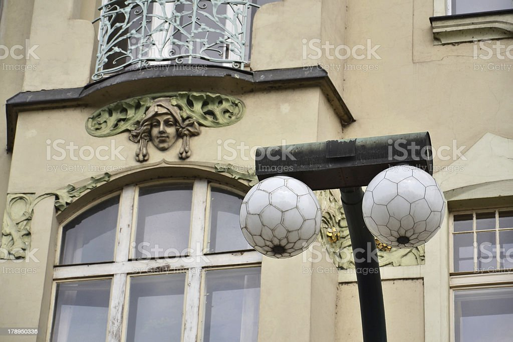 Prague architecture royalty-free stock photo