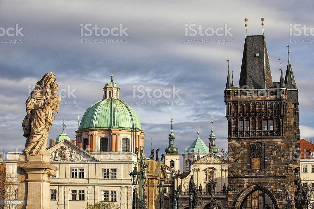 Prague architecture royalty-free stock photo