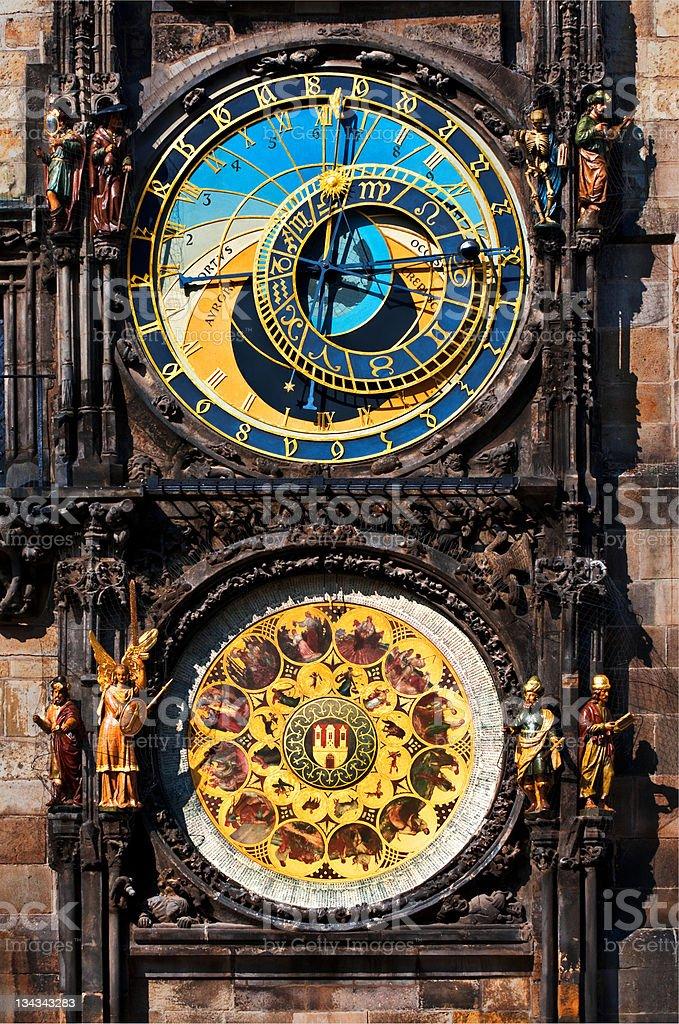 Prague Astronomical Clock royalty-free stock photo