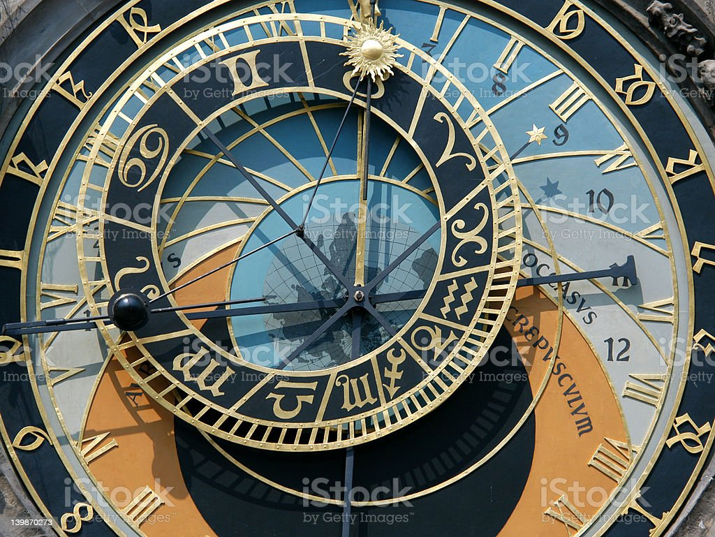Prague Astronomical Clock royalty-free stock photo