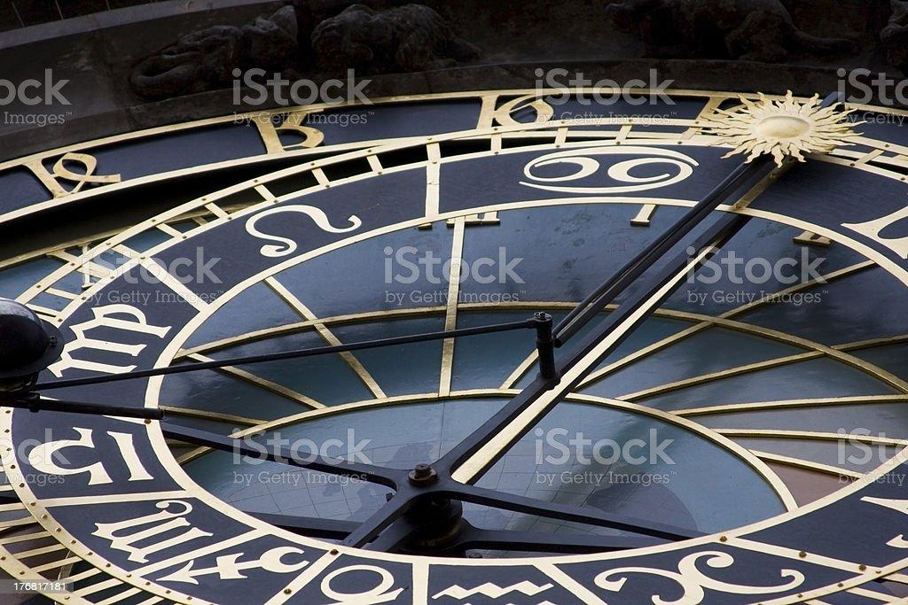 Prague Astronomy Clock royalty-free stock photo
