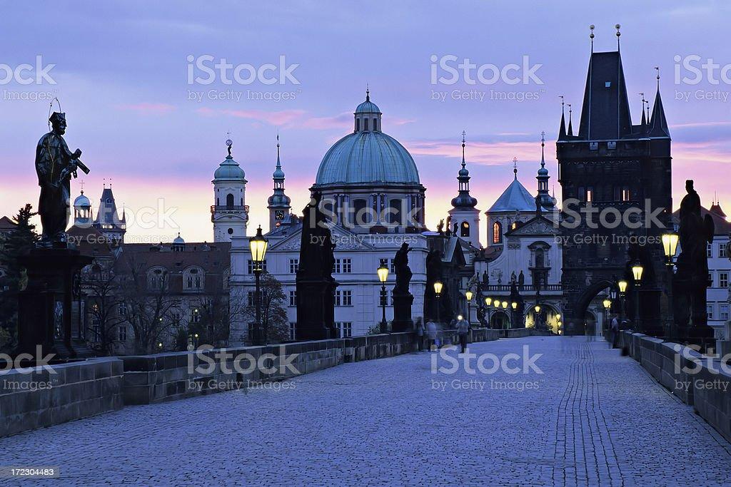 Prague at Dawn royalty-free stock photo