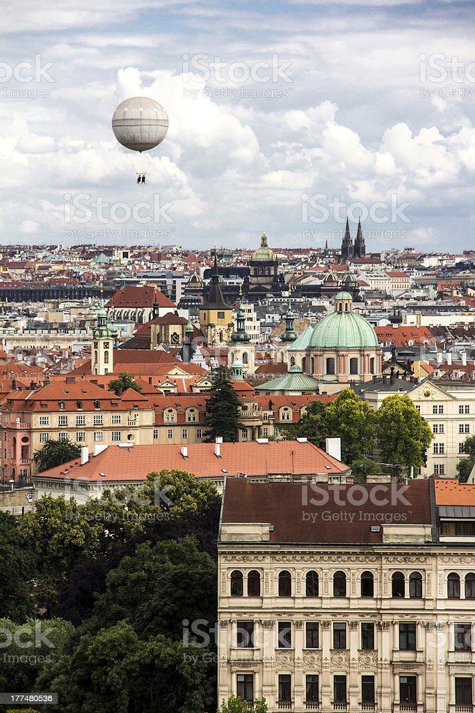 Prague Balloon royalty-free stock photo