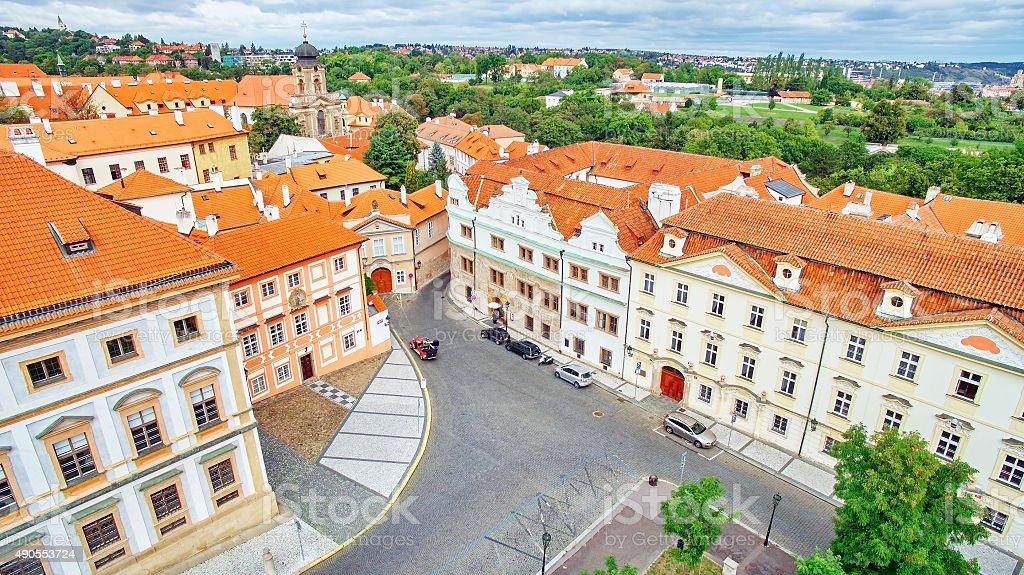 Prague Castle area . Czech Republic. stock photo