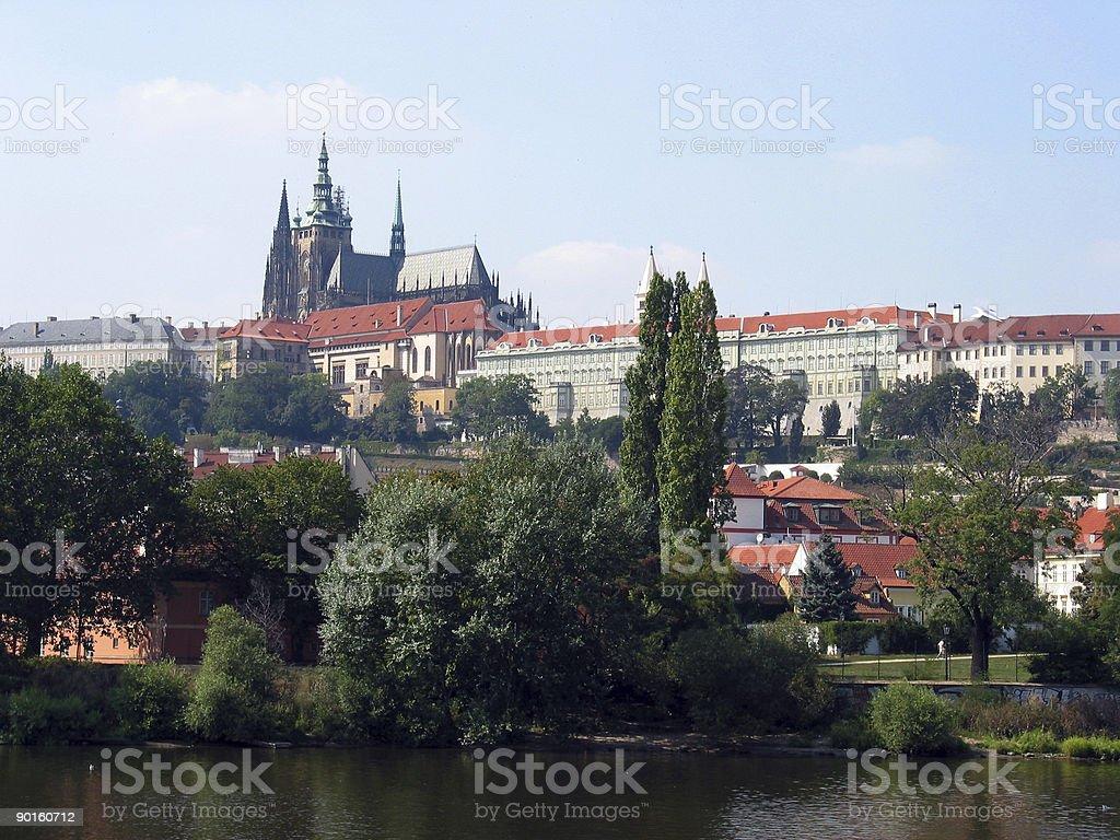 prague castle, czech republic royalty-free stock photo