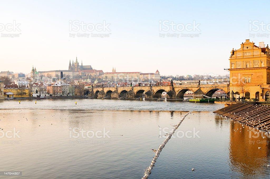 Prague Castle royalty-free stock photo
