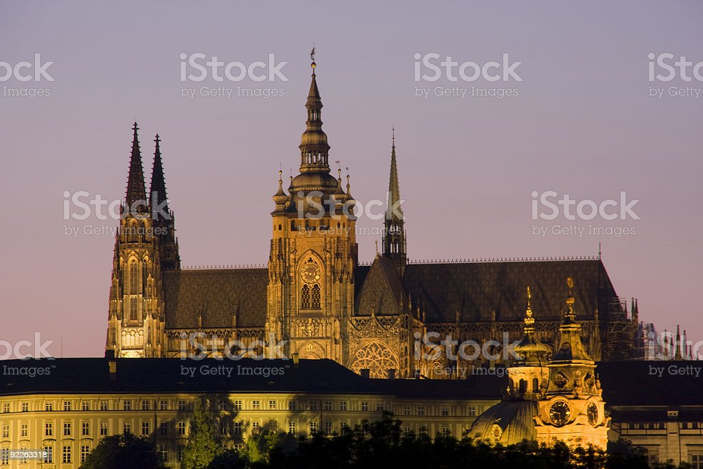 Prague Castle royalty-free stock photo