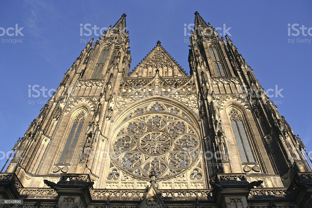Prague Cathedral royalty-free stock photo