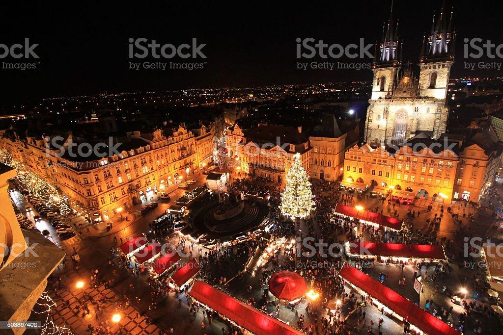 Prague Christmas Markets stock photo