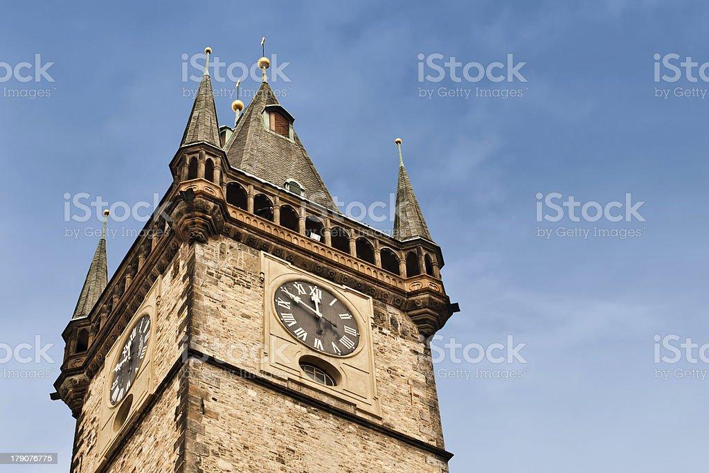 Prague city hall royalty-free stock photo