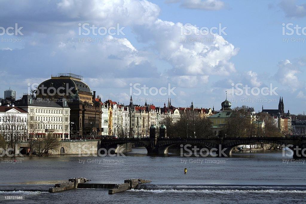 Prague cityscape royalty-free stock photo