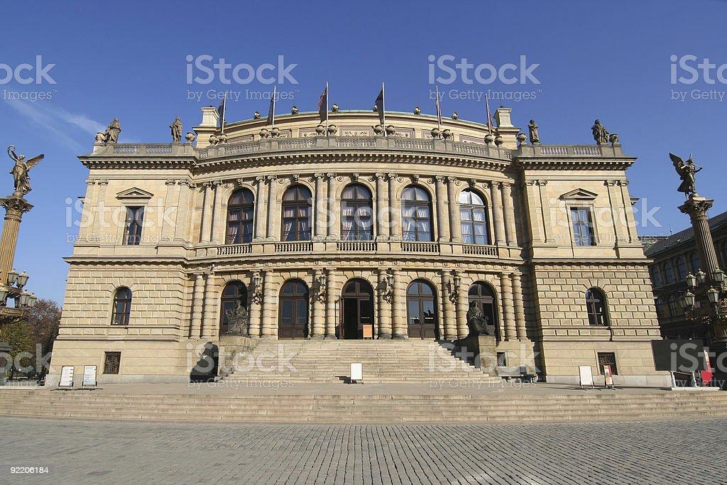 Prague Concert Hall royalty-free stock photo