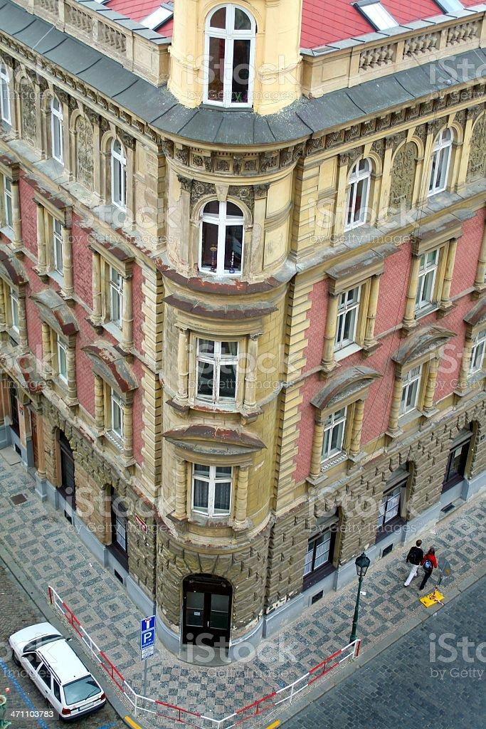 Prague corner royalty-free stock photo