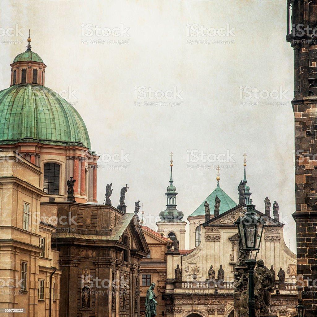 Prague Czech Republic Architecture stock photo