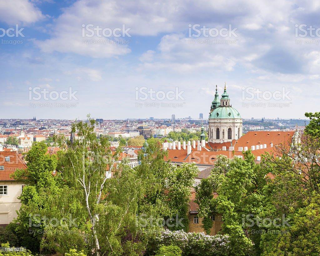 Prague, en République tchèque photo libre de droits