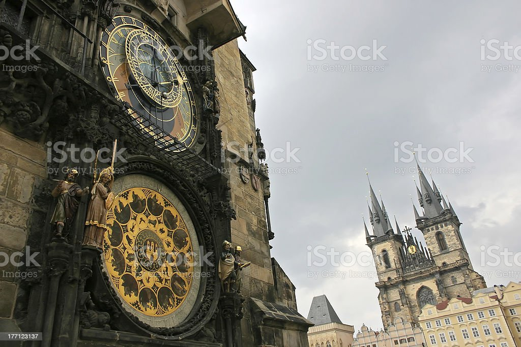 Prague detail royalty-free stock photo