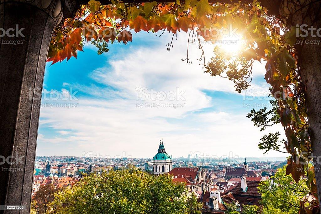Prague In Autumn Colors stock photo