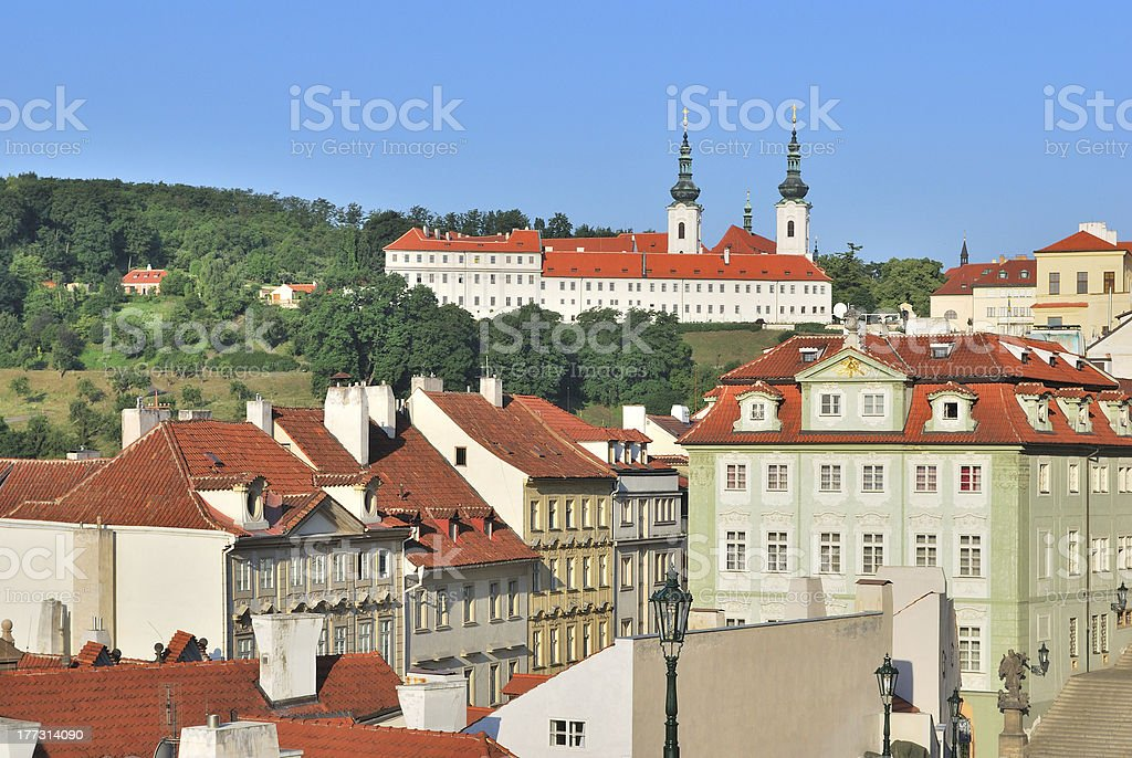 Prague.  Lesser Town stock photo