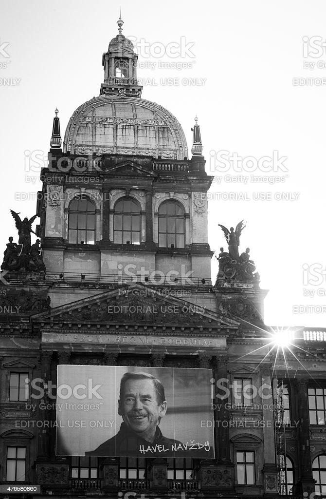 Prague National Museum stock photo