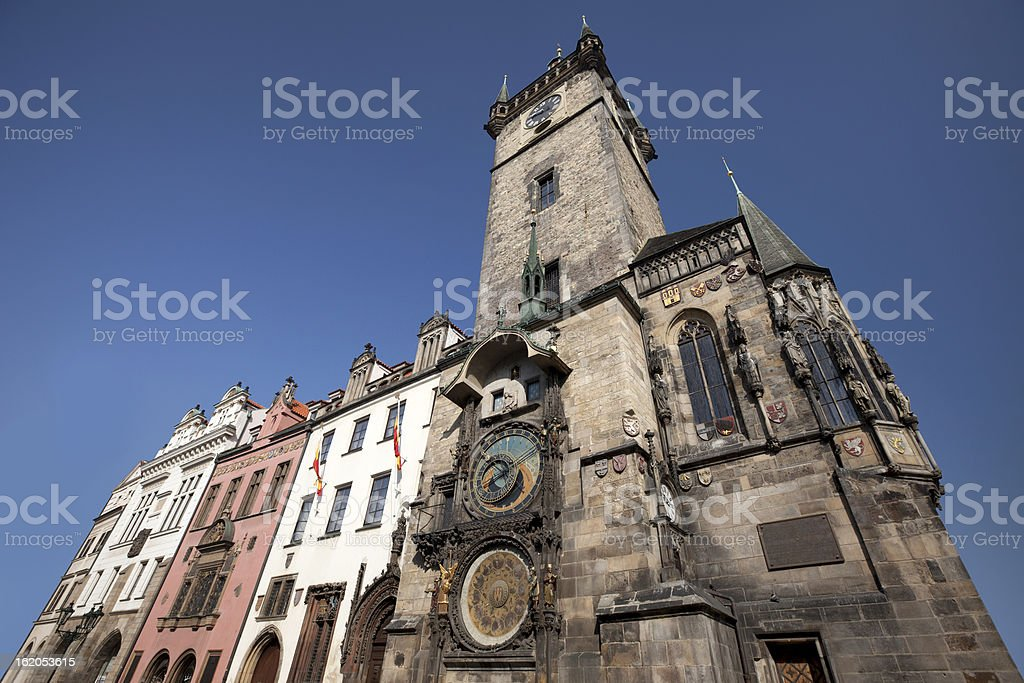 Prague - Old City Hall royalty-free stock photo