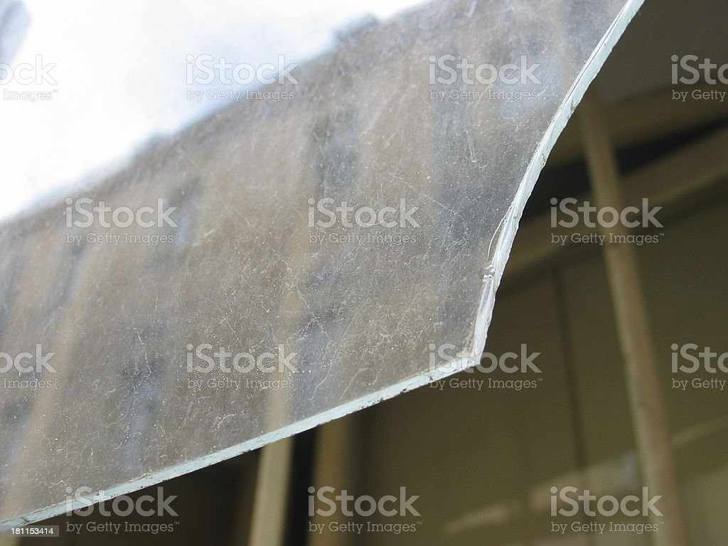 Prague: Old Town Glass Reflection royalty-free stock photo