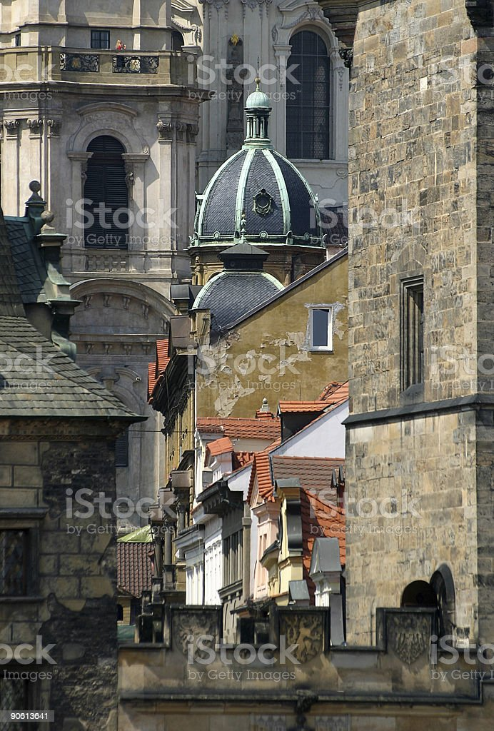Prague old town royalty-free stock photo