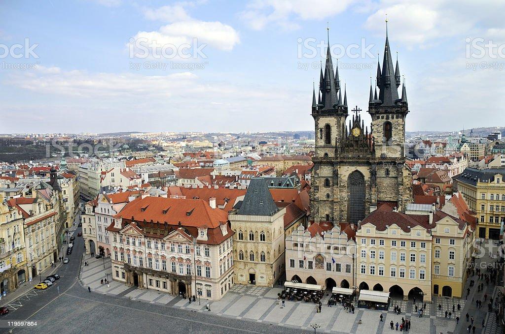 Prague, Old Town Square royalty-free stock photo