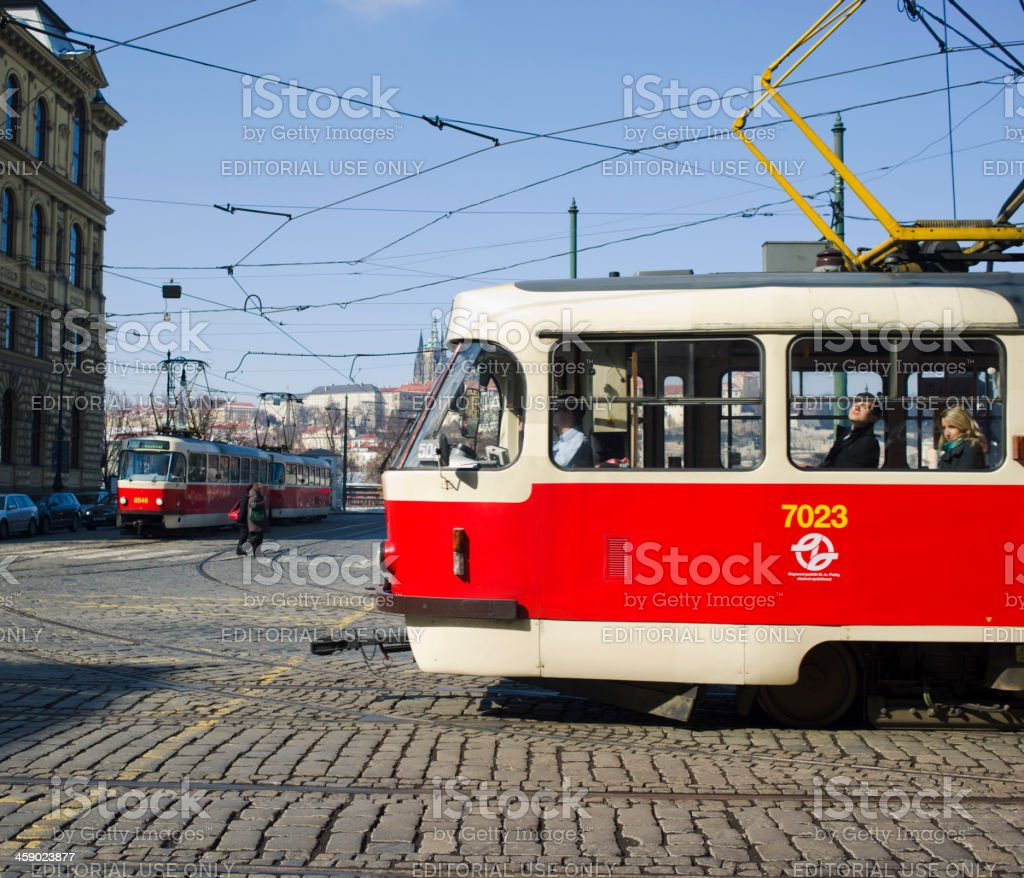 Prague Old Town Square royalty-free stock photo