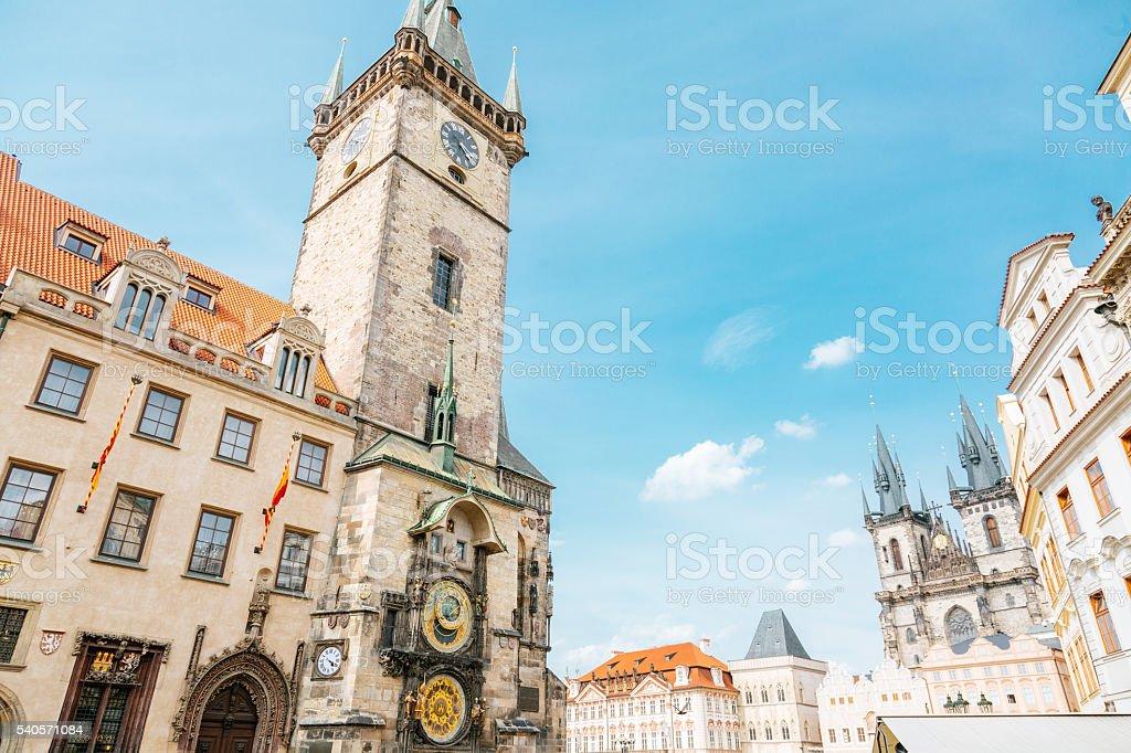 Prague - old town square stock photo
