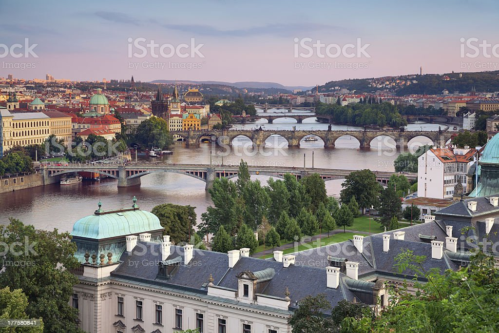 Prague. royalty-free stock photo