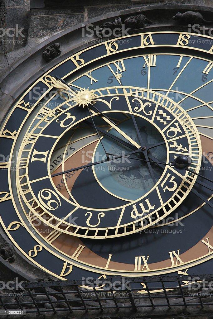 Prague. Pražský orloj royalty-free stock photo