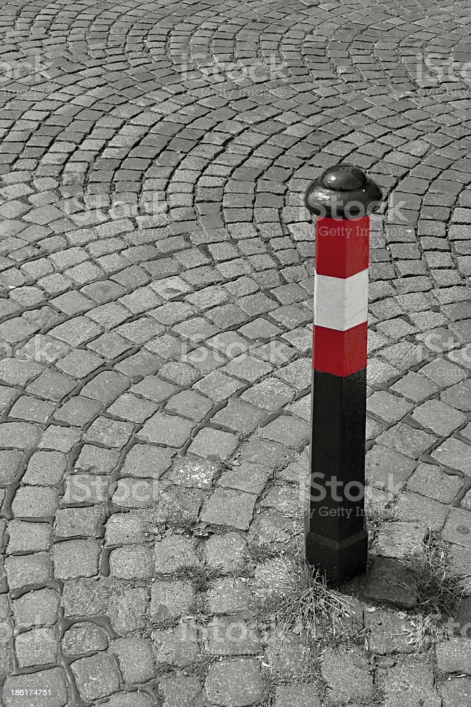 Prague Road Puncheon royalty-free stock photo