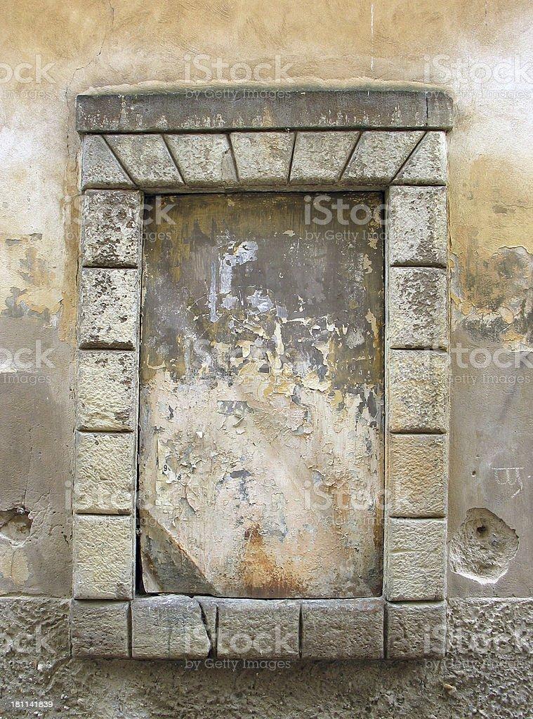 Prague: Sill Sans Window royalty-free stock photo