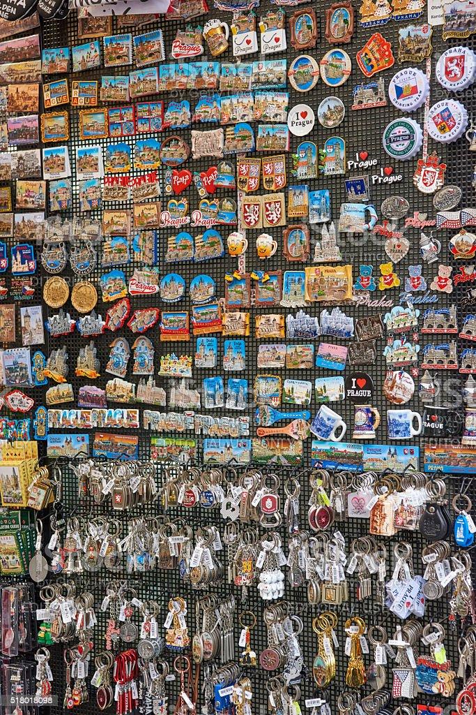 Prague Souvenirs stock photo