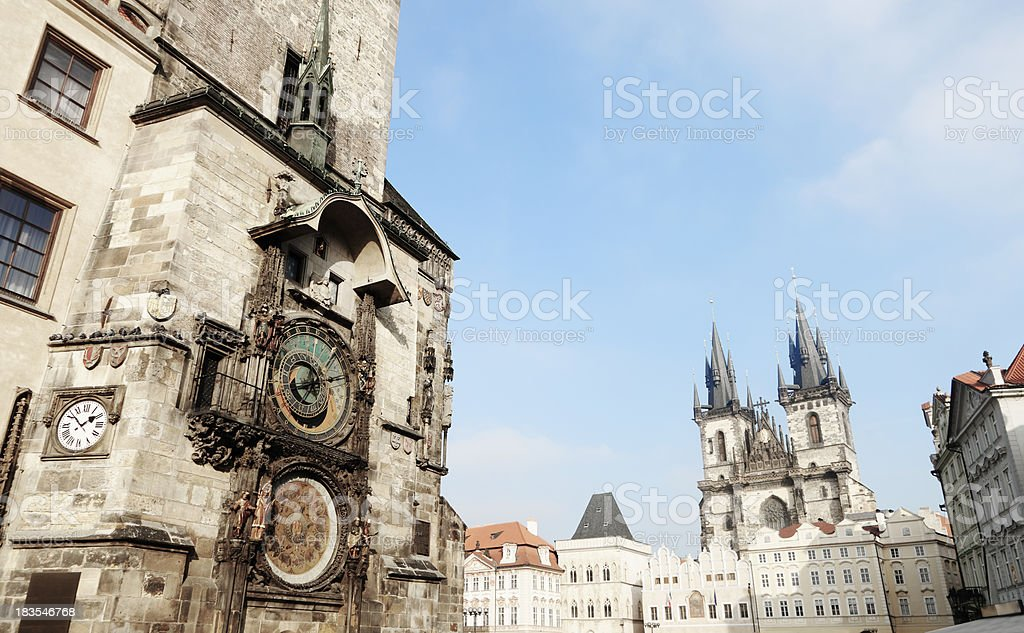 Prague Square royalty-free stock photo