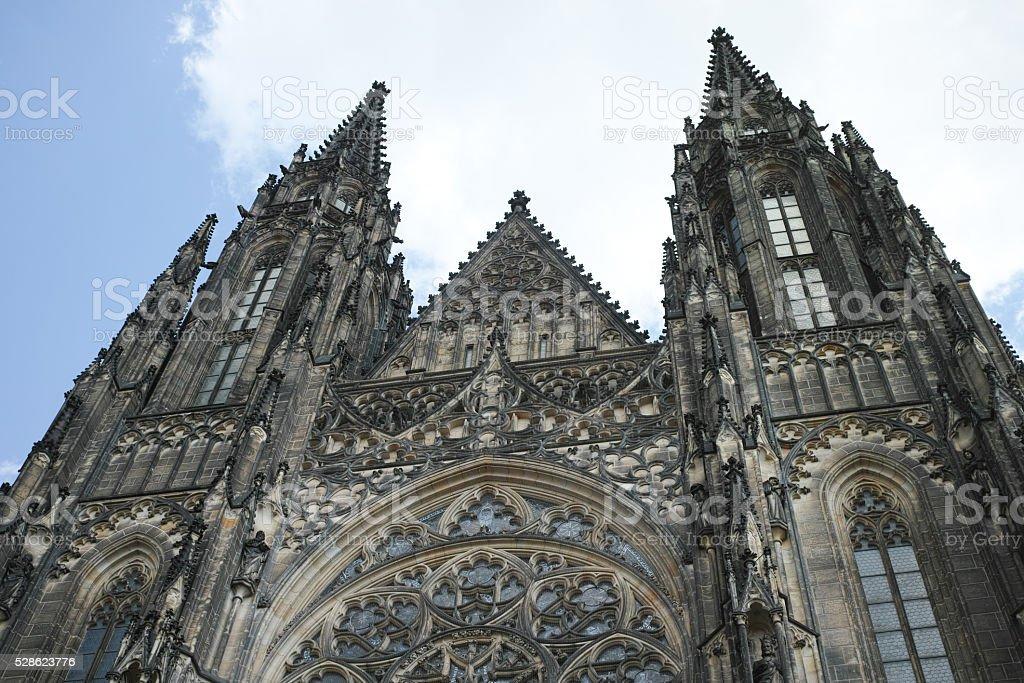 Prague, la Cathédrale St Vitus photo libre de droits